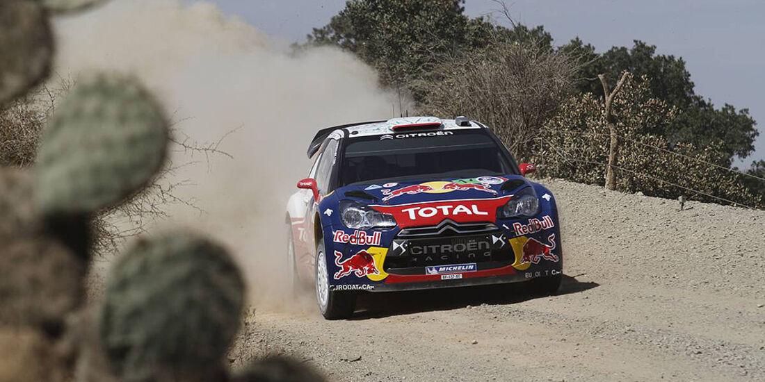 Rallye Mexiko 2011, Ogier, Citroen DS3 WRC