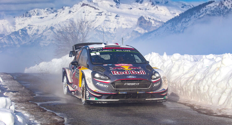 rallye monte carlo 2018 ogier siegt vor zwei toyotas. Black Bedroom Furniture Sets. Home Design Ideas