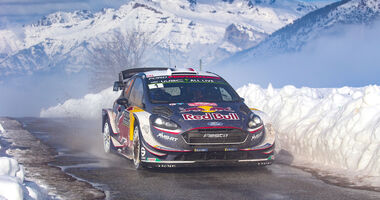Rallye Monte Carlo 2018 - Sébastien Ogier - WRC