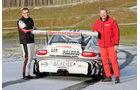 Rallye-Porsche 911 GT3, Heckansicht