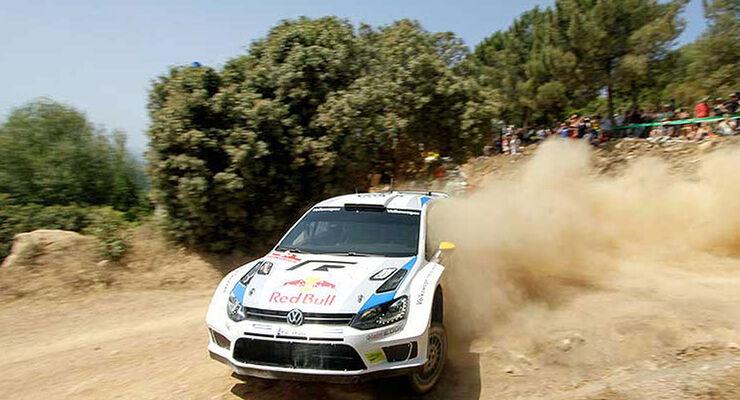 Rallye Sardinien VW Polo WRC