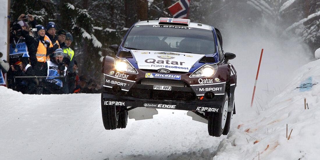 Rallye Schweden 2013, Tag 1