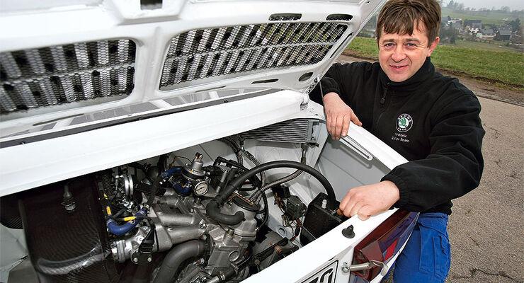 Rallye-Skoda Motor