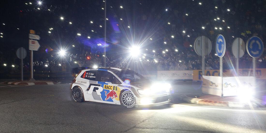 Rallye Spanien, Ogier, VW