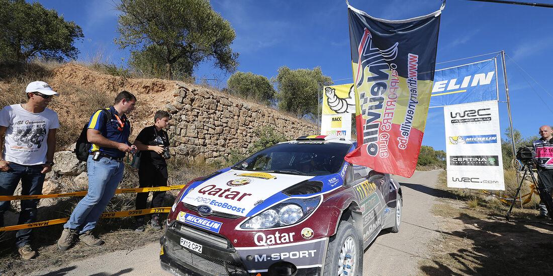 Rallye Spanien, Tag 3, Neuville, Ford