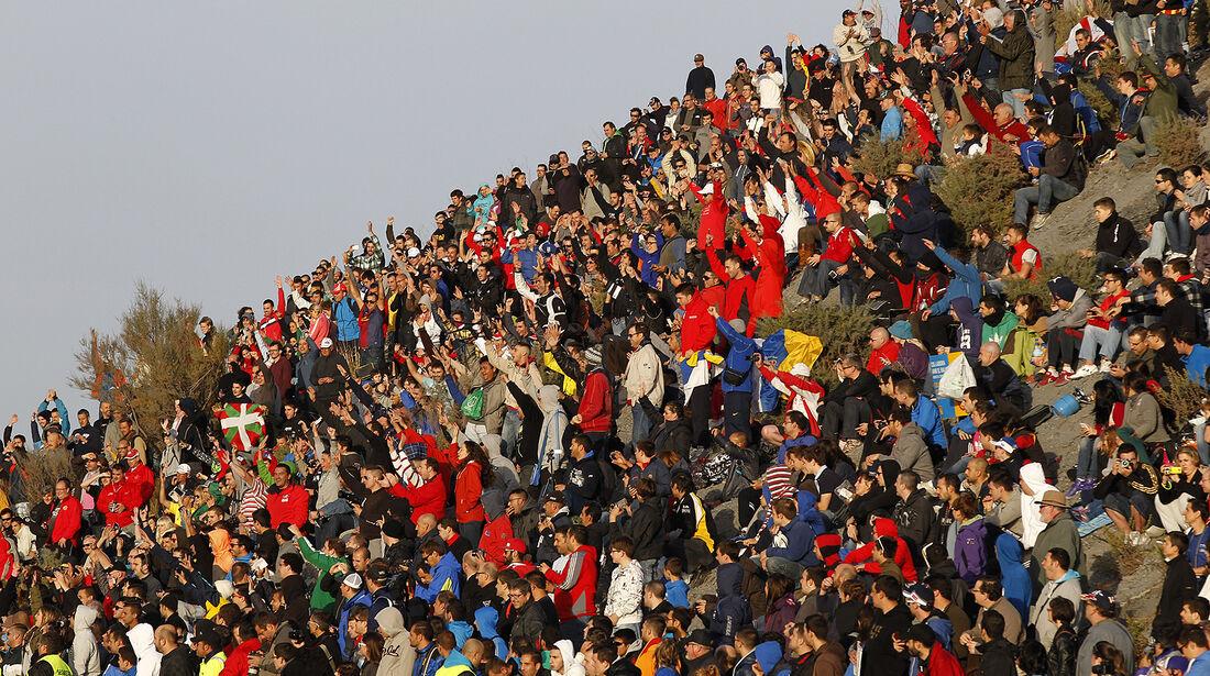 Rallye Spanien, Zuschauer