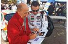 Rallyelegend San Marino, Didier Auriol, Autogrammjäger
