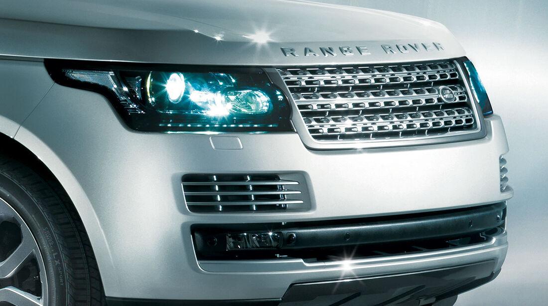 Range Rover 2012, Innenraum, Kühlergrill