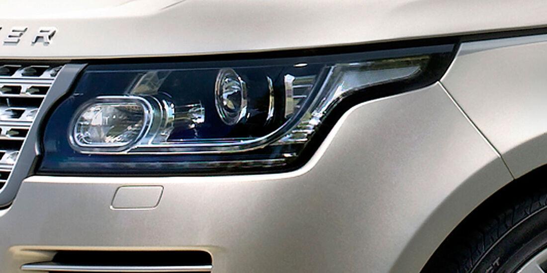 Range Rover 2012, Scheinwerfer