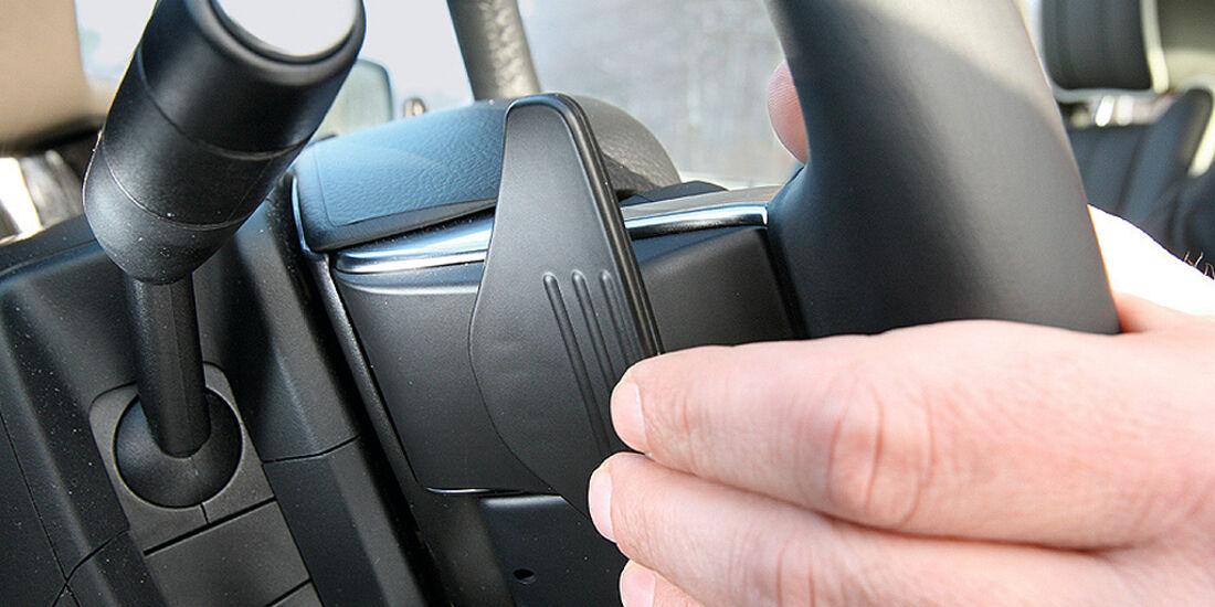 Range Rover 4.4 TDV8 Vogue, Schaltwippen