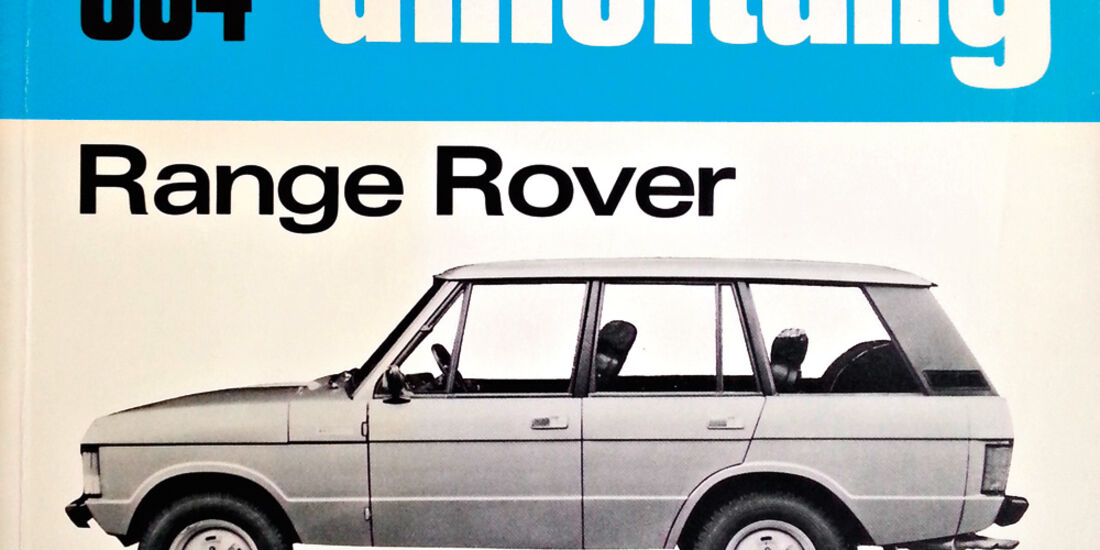 Range Rover Classic, Buch, Reparaturanleitung
