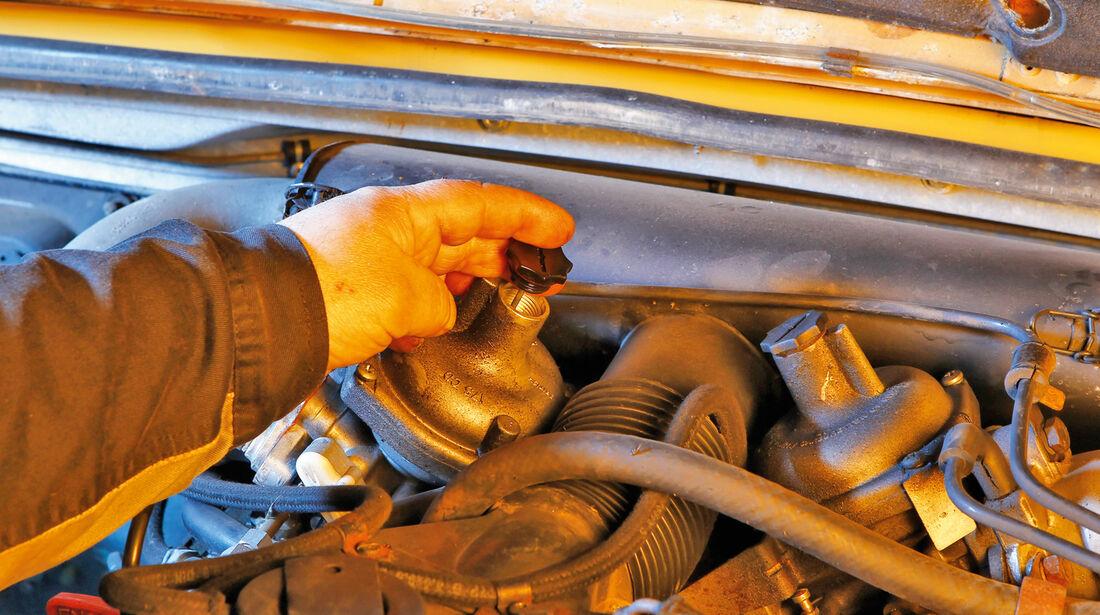 Range Rover Classic, SU-Vergaser, Dämpferöl