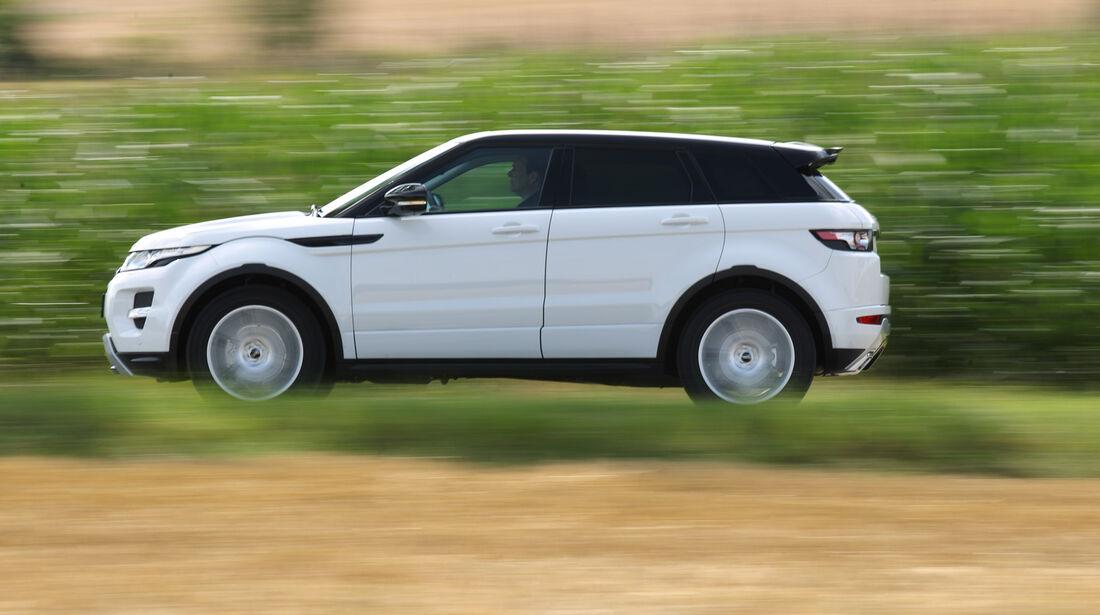 Range Rover Evoque 2.2 SD, Seitenansicht