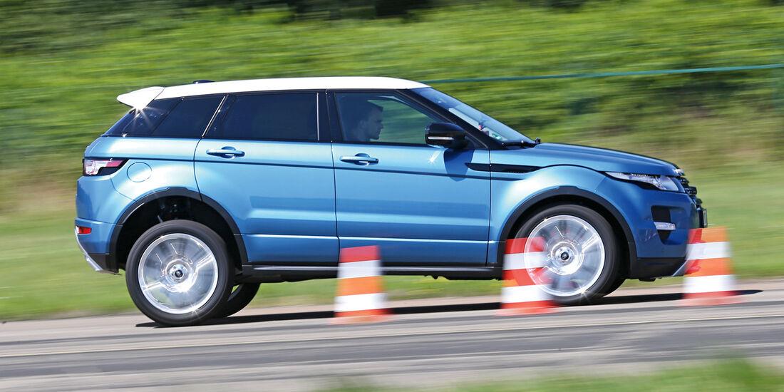 Range Rover Evoque 2.2 TD4 Dynamic, Bremstest