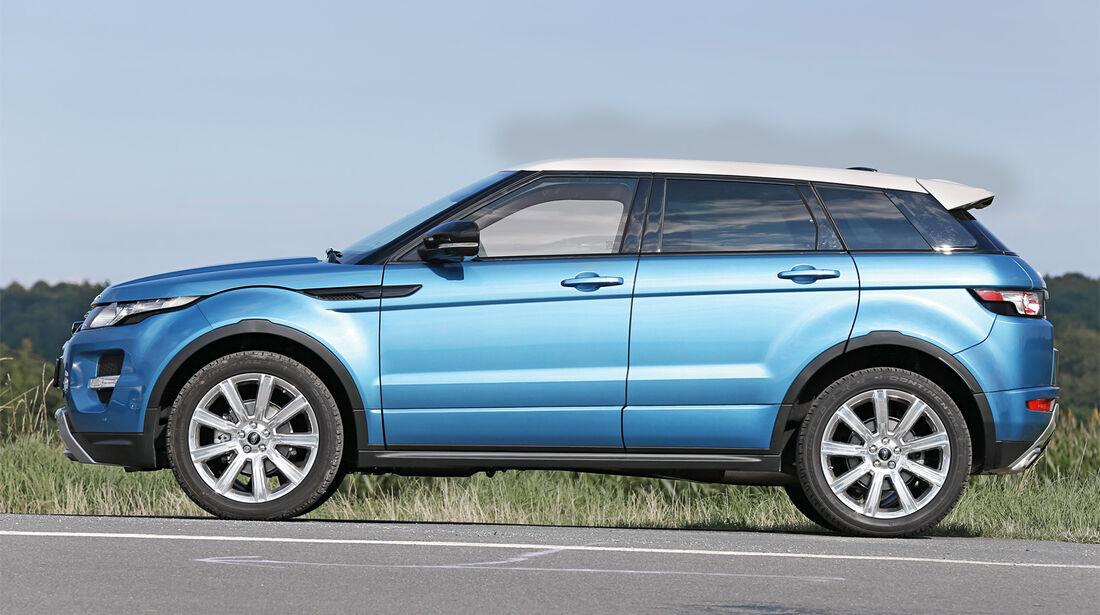 Range Rover Evoque 2.2 TD4 Dynamic, Seitenansicht