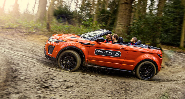 range rover evoque tests auto motor und sport. Black Bedroom Furniture Sets. Home Design Ideas