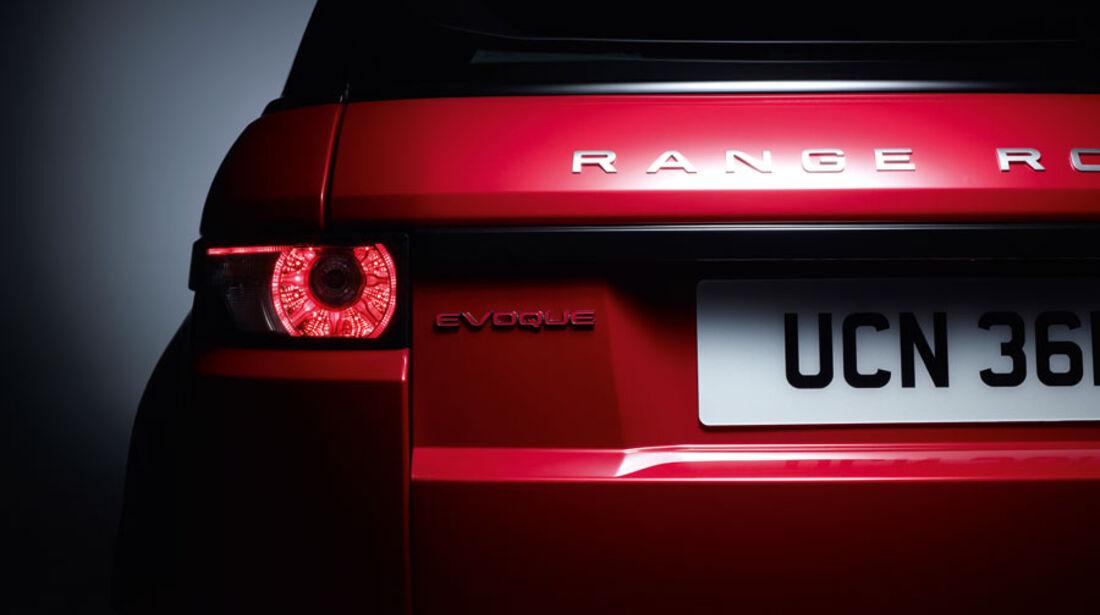 Range Rover Evoque Fünftürer, Rücklicht