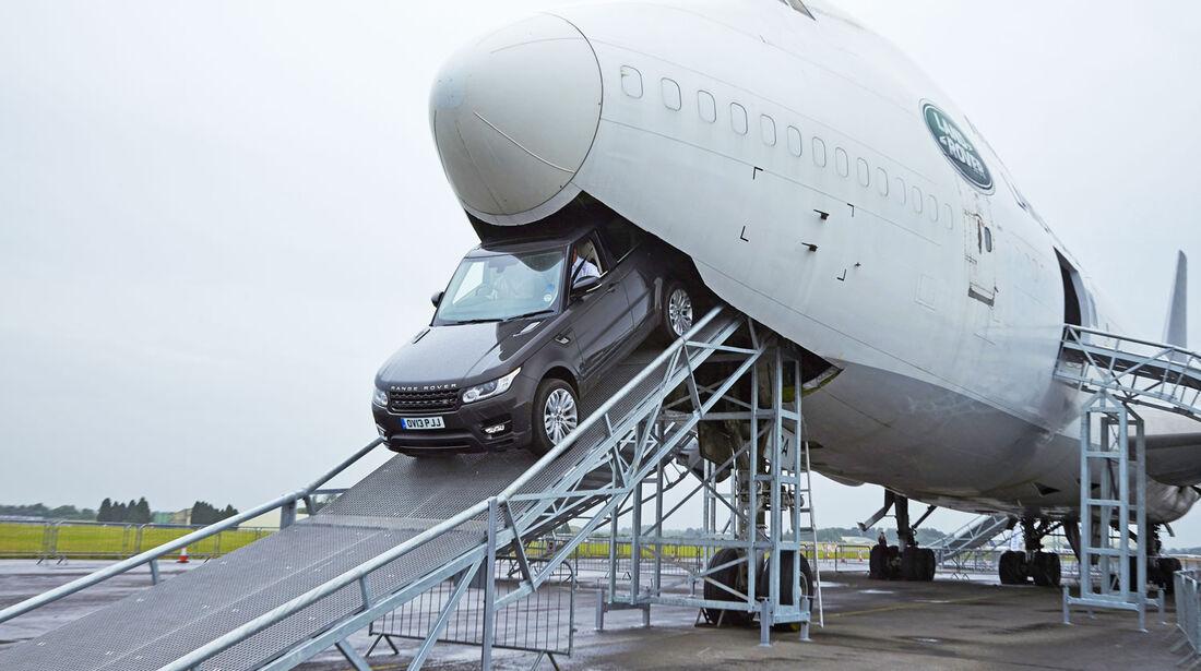 Range Rover Sport 2013 Parcours Boeing 747