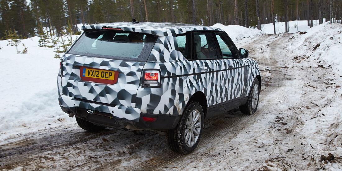 Range Rover Sport, Heckansicht, Gelände