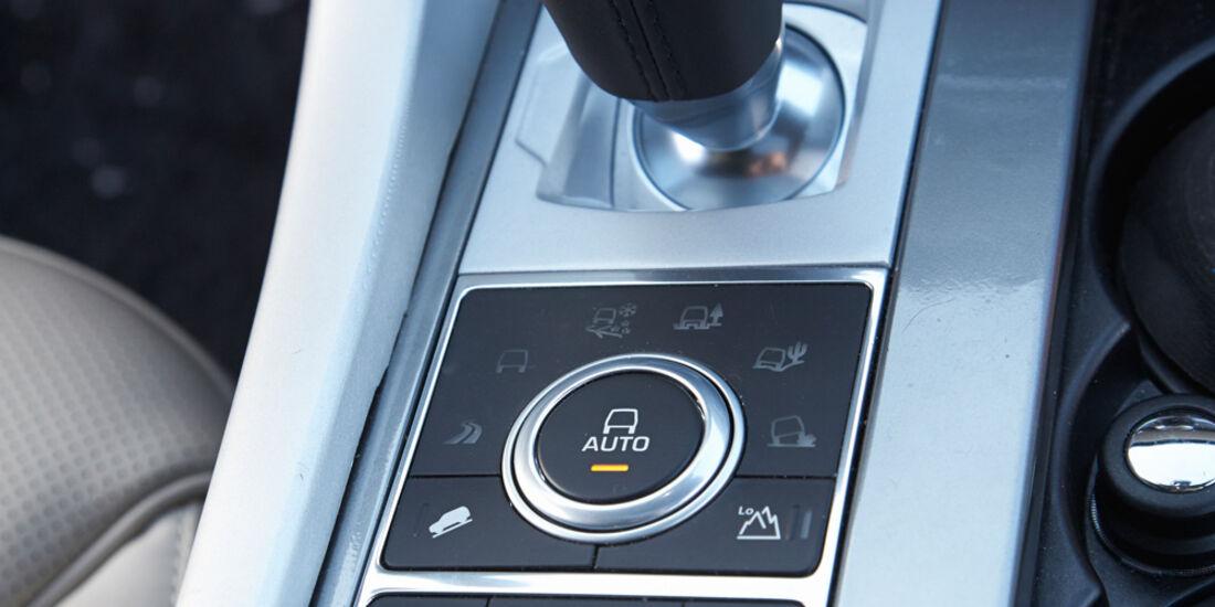 Range Rover Sport, Mittelkonsole, Schalthebel