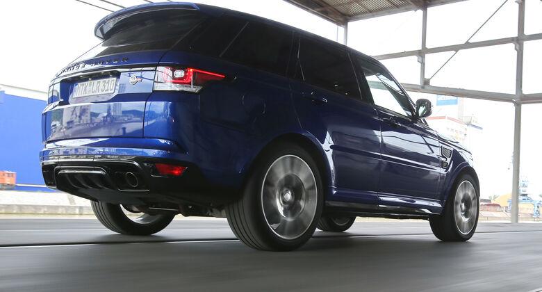 range rover sport tests auto motor und sport. Black Bedroom Furniture Sets. Home Design Ideas