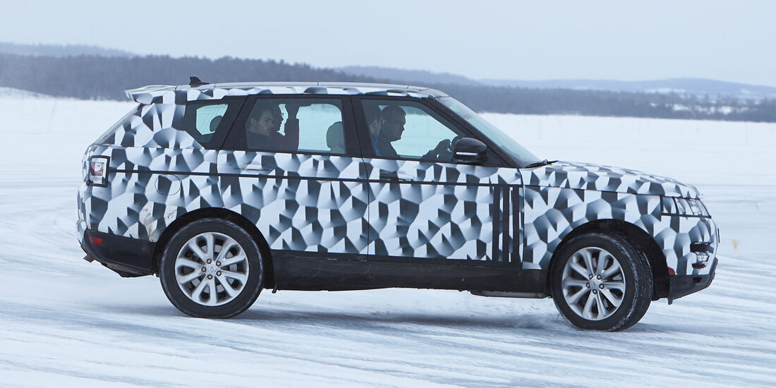 Range Rover Sport, Seitenansicht