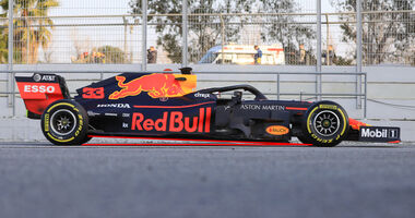 Red Bull - Abmessungen - Barcelona-Test 2019
