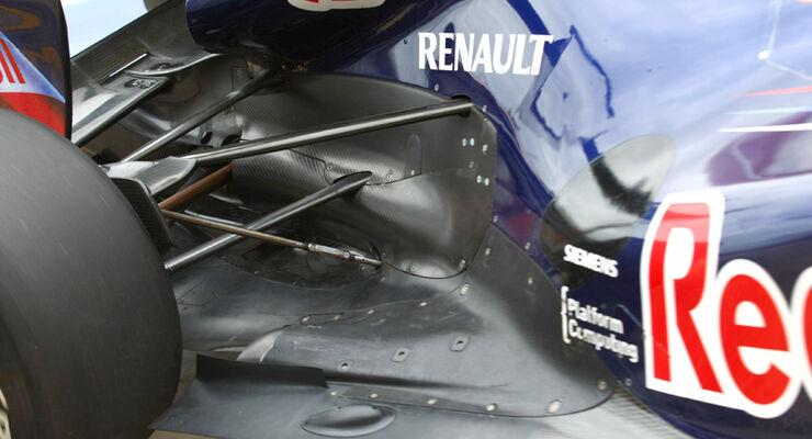 Red Bull Auspuff 2011