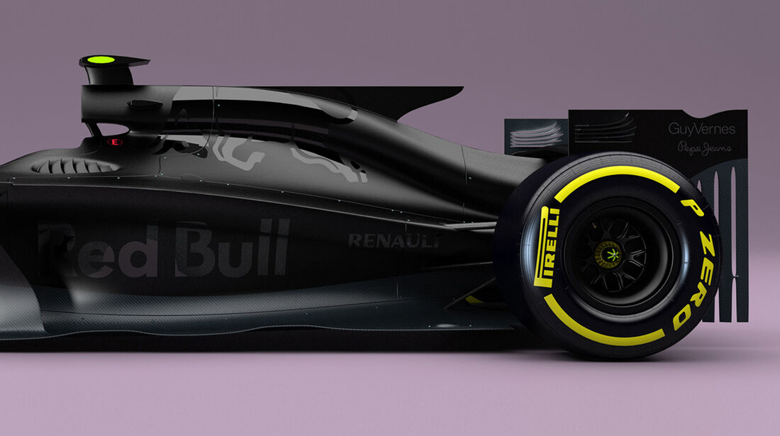 Red Bull F1 Concept 2017 - Andries van Overbeeke