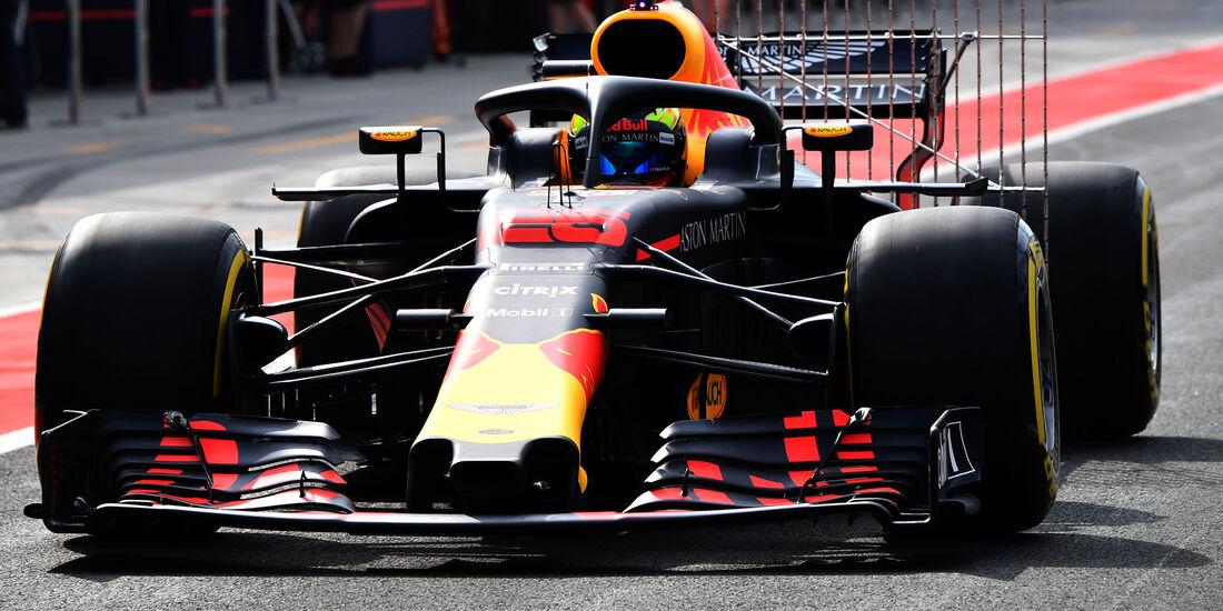 Red Bull - F1-Testfahrten - Ungarn