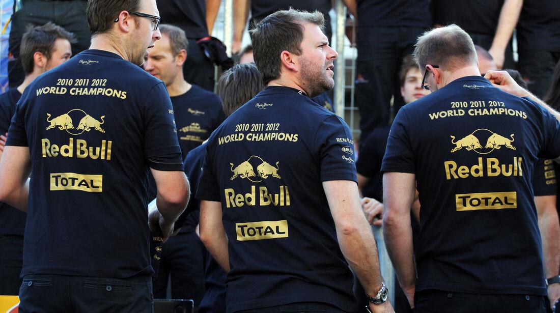 Red Bull Formel 1 Austin GP USA 2012