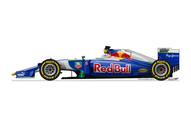 Red Bull - Formel 1 Design Concepts 2016