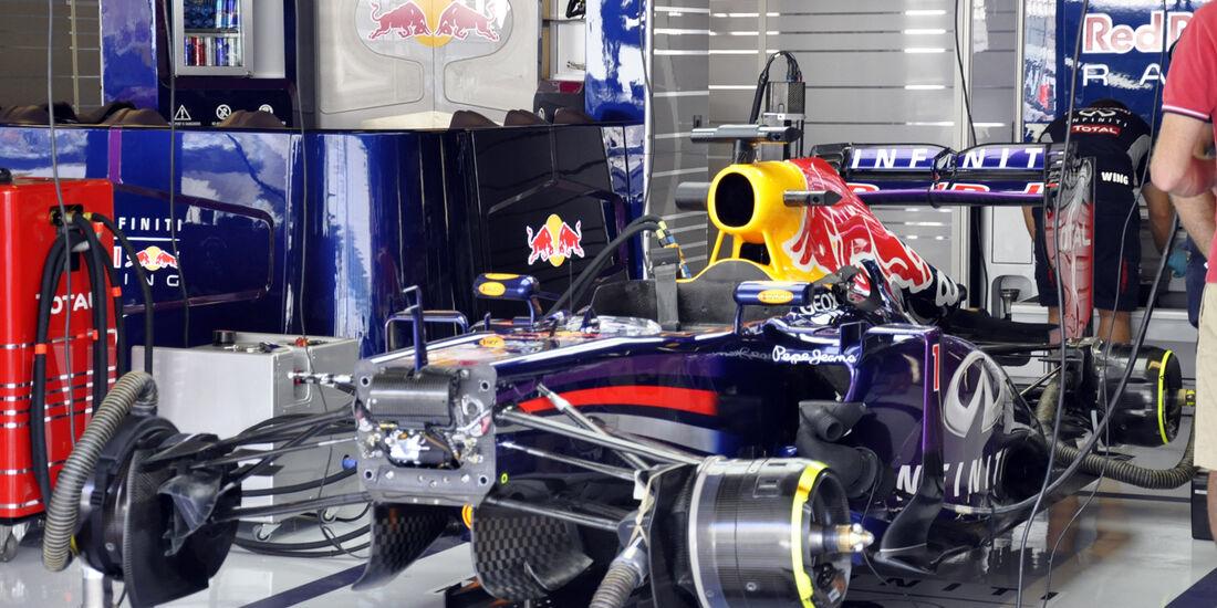 Red Bull  - Formel 1 - GP Abu Dhabi - 01. November 2013