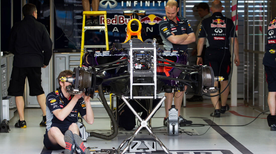 Red Bull - Formel 1 - GP Australien - 14. März 2013