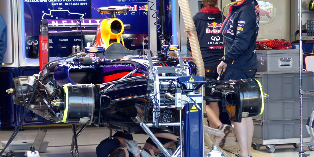 Red Bull - Formel 1 - GP Australien - 14. März 2014