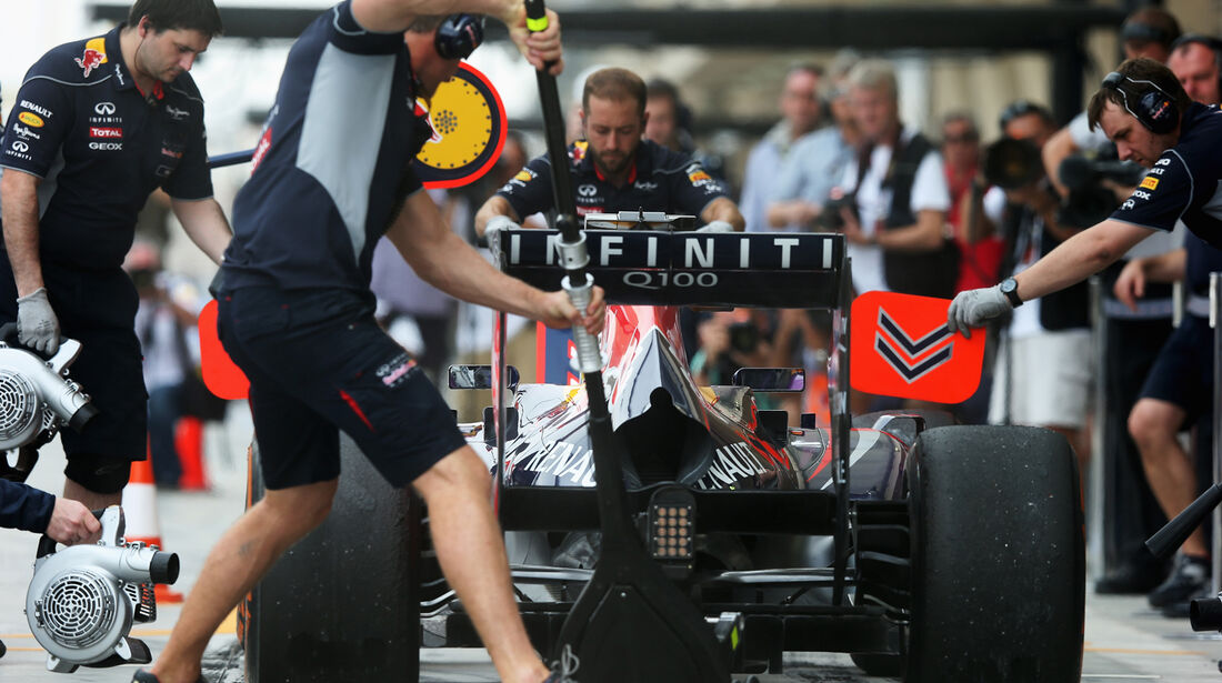 Red Bull - Formel 1 - GP Bahrain - 19. April 2013