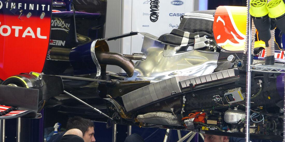 Red Bull - Formel 1 - GP Bahrain - Sakhir - 5. April 2014