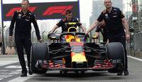 Red Bull - Formel 1 - GP China - Shanghai - 12. April 2018