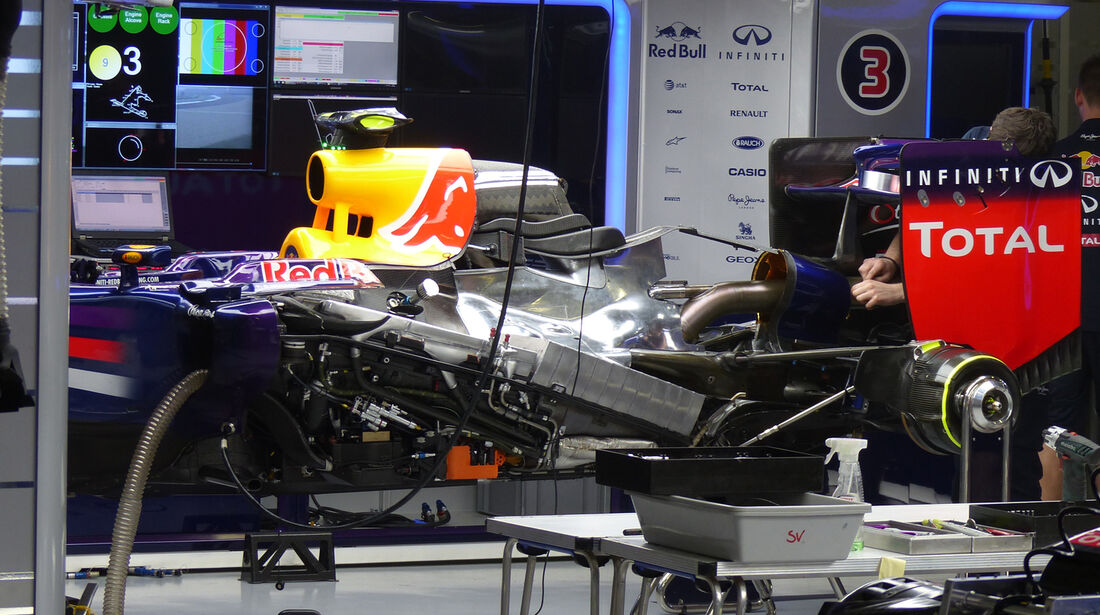 Red Bull - Formel 1 - GP China - Shanghai - 17. April 2014