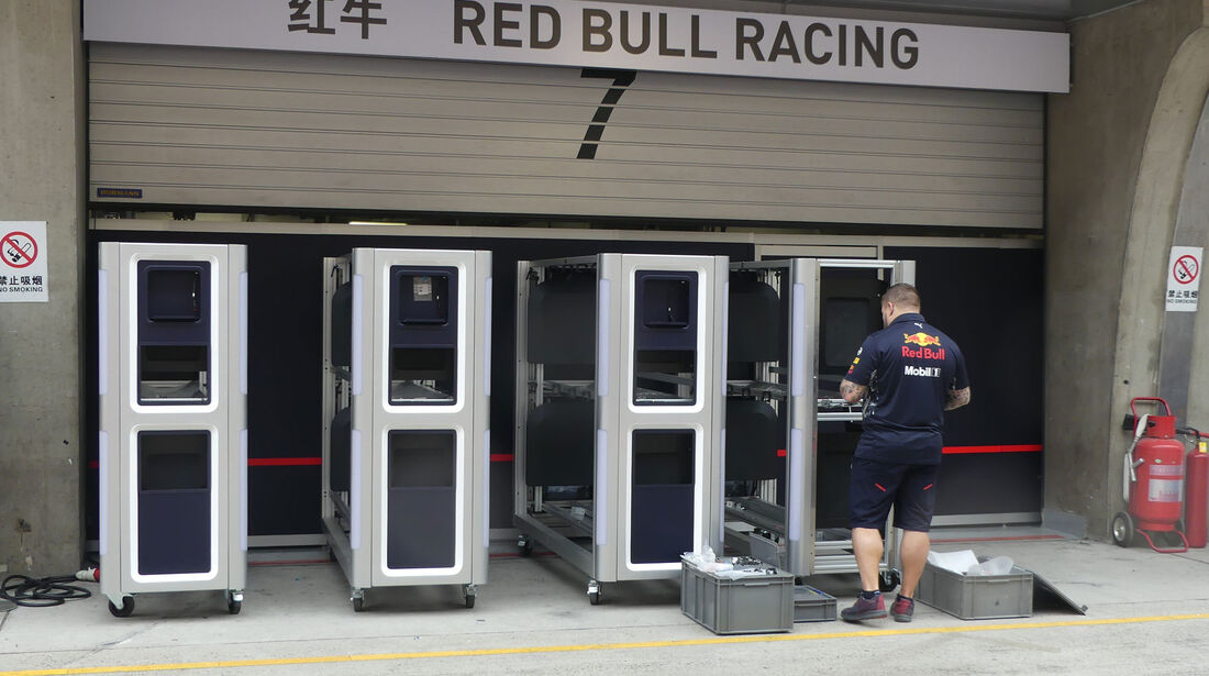 Red Bull - Formel 1 - GP China - Shanghai - 6.4.2017