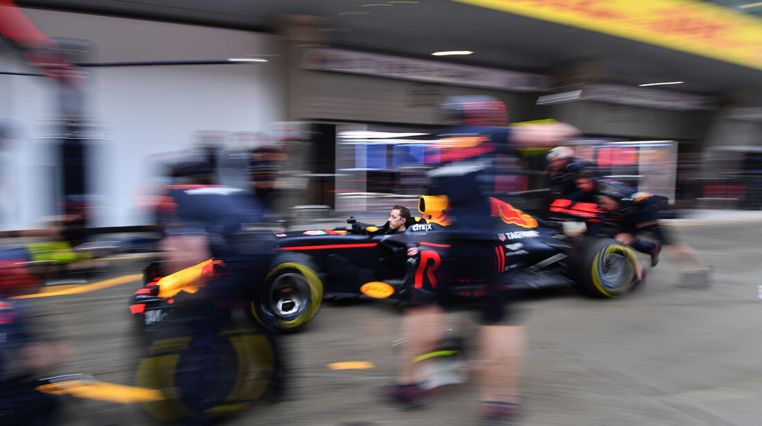 Red Bull - Formel 1 - GP China - Shanghai - Freitag - 7.4.2017