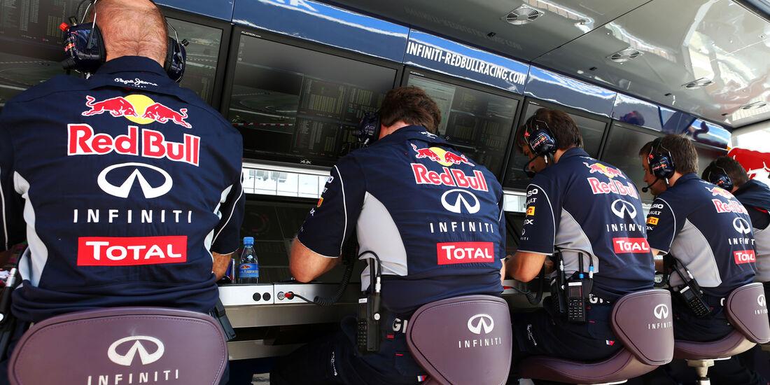 Red Bull - Formel 1 - GP Deutschland - 6. Juli 2013