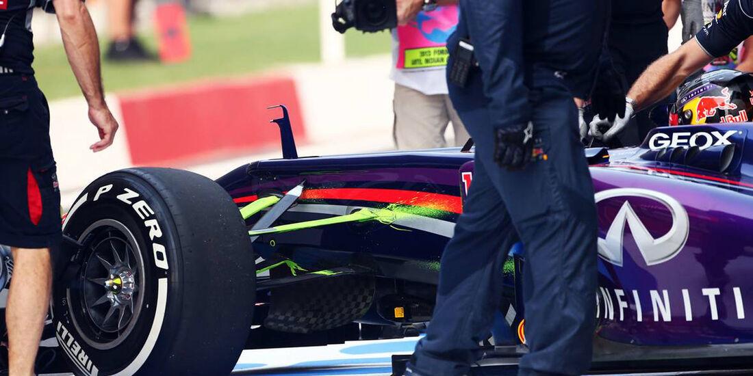 Red Bull  - Formel 1 - GP Indien - 25. Oktober 2013