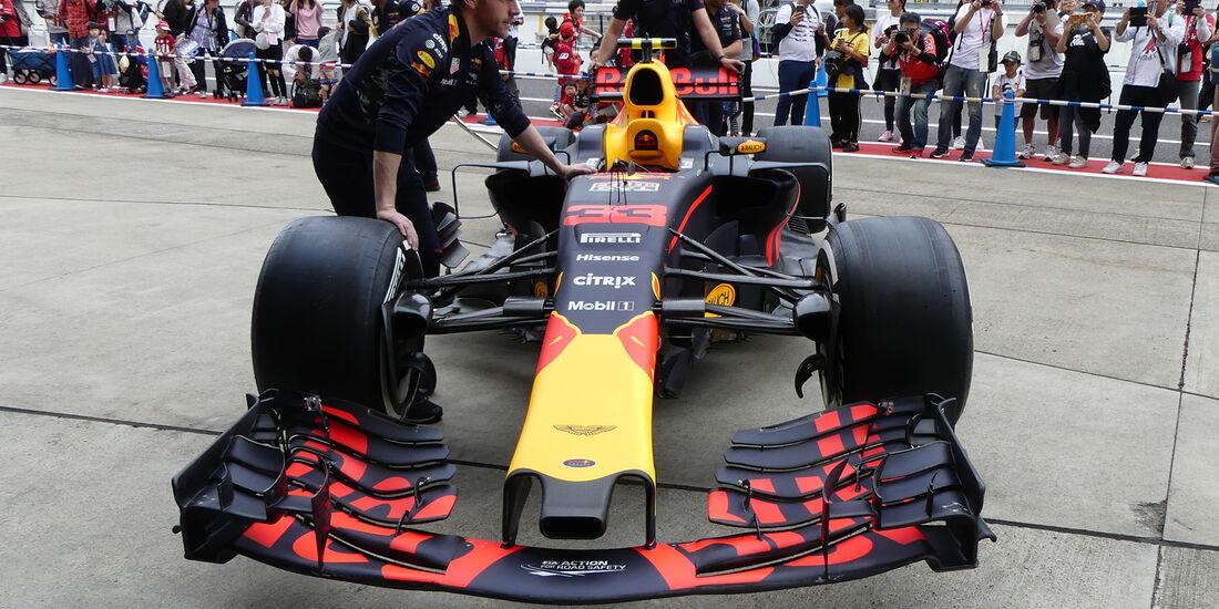Red Bull - Formel 1 - GP Japan - Suzuka - 5. Oktober 2017