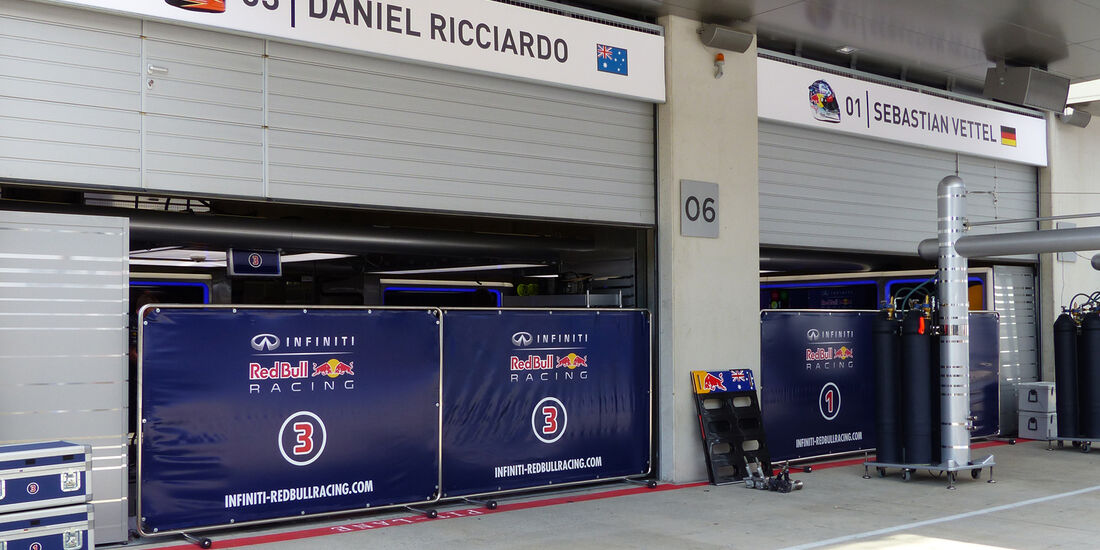 Red Bull - Formel 1 - GP Österreich - 18. Juni 2014