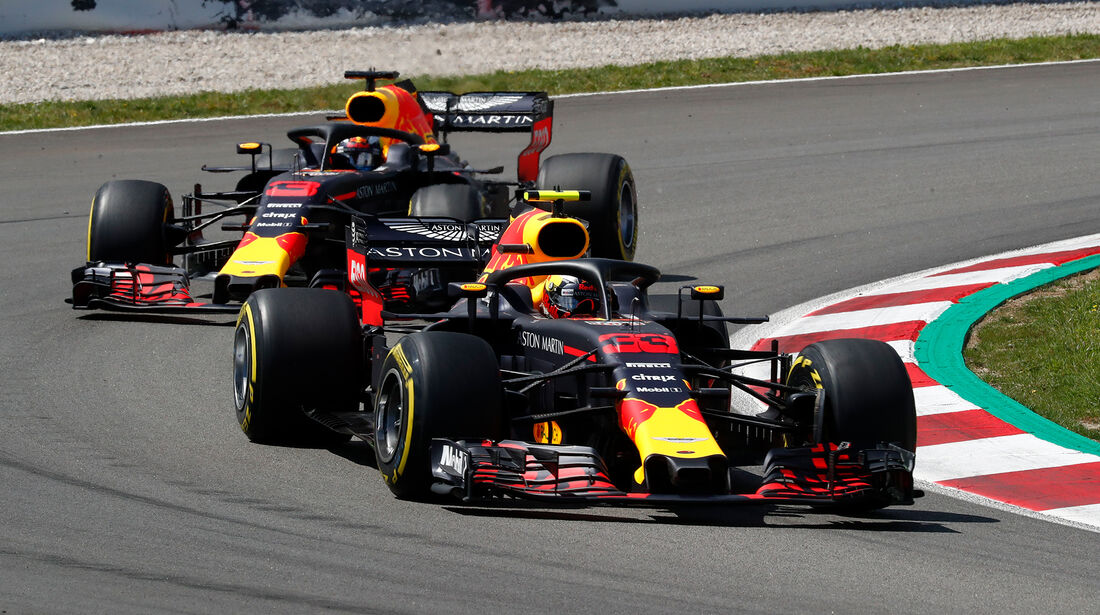 Red Bull - Formel 1 - GP Spanien 2018