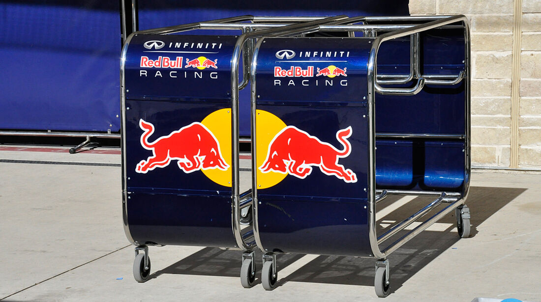 Red Bull - Formel 1 - GP USA - Austin - 13. November 2013