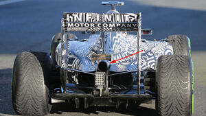 Red Bull - Formel 1-Technik - F1-Test - Jerez - 2015