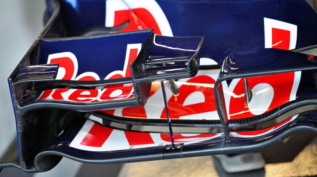 Red Bull-Frontflügel - GP Singapur - 23. September 2011