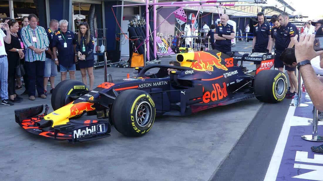 Red Bull - GP Australien 2018 - Melbourne - Albert Park - Freitag - 23.3.2018